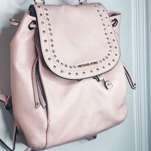 Michael Kors Jet Set Riley Jewel Pink Backpack